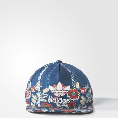 Adidas Cirandeira Floral Printed Snapback Blue Originals