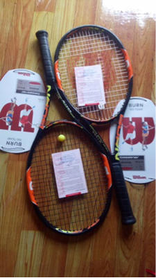 Raket / racquet tennis / tenis Wilson Burn Team