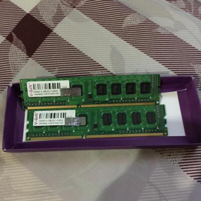 RAM VGEN 8GB (2 X 4GB) DDR3 10600