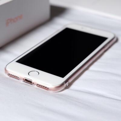 iphone 7 rose gold 128gb ibox baru 2minggu pake