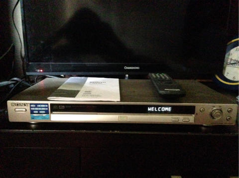 DVD/VCD PLAYER SONY DVP-NS530