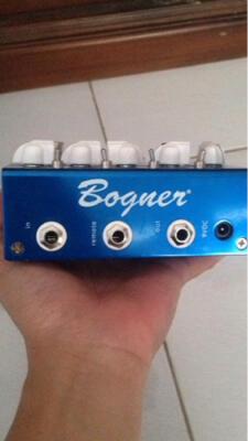forsale!!! efek gitar bogner ecstasy blue overdrive