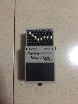 BOSS GEB7 Equalizer Stompbox Bass Efek Jogja