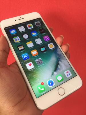 iphone 6 plus silver 128 gb bekasi masuk gan