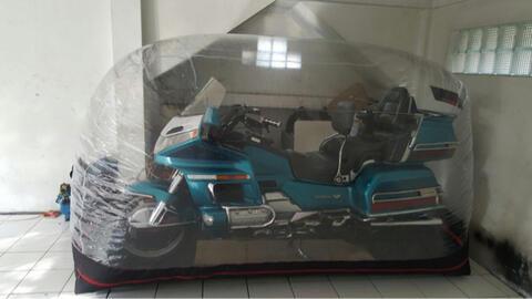 BODY COVER BUBBLE MOTOR UNTUK MELINDUNGI KENDARAAN ANDA