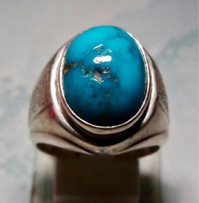Cincin Pirus Persia biru full porcelen