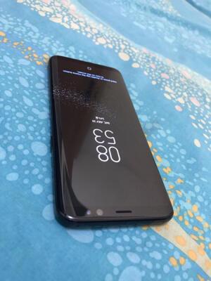 Samsung Galaxy S8 black, SEIN, mulus, BNOB