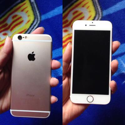 Gold iPhone 6 64GB + Bonus