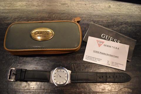 jam tangan guess microsteel original
