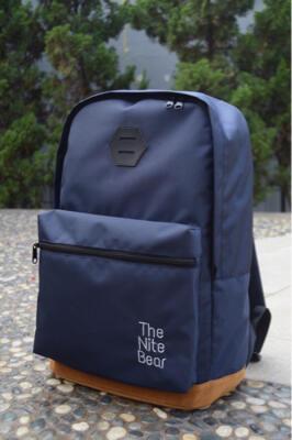 tas ransel /backpack / punggung / laptop TheNiteBear Navy Blue