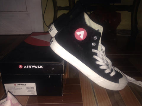 JUAL AIR WALK NEW BASIC CANVAS-HI