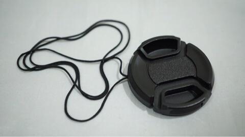 Lens Cap 40.5 mm - Lenscap Tutup Lensa Center Pinch 40.5mm