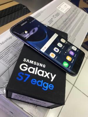 SECOND SAMSUNG GALAXY S7 EDGE BLACK ONYX MULUS 99%