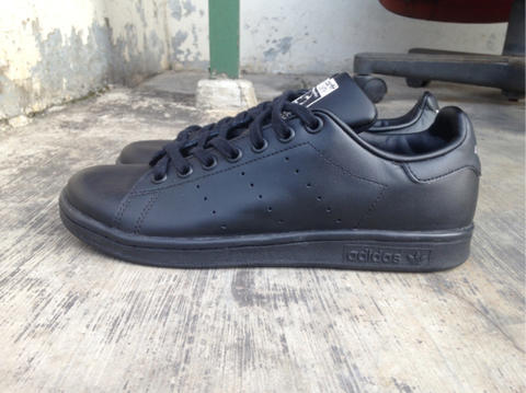 new style 38c0a d6376 [100% ORIGINAL] Adidas Stan Smith All Black size 38 2/3, muraahhh...