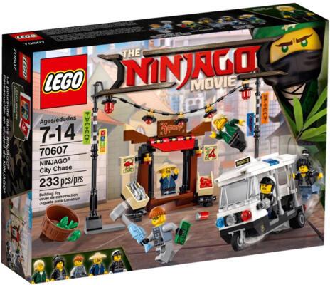 LEGO 70607 THE LEGO NINJAGO MOVIE NINJAGO City Chase