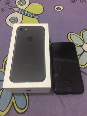 iphone 7 black matte 128gb