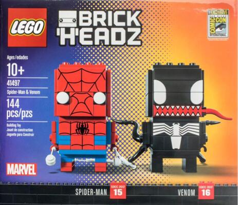 LEGO 41497 BRICKHEADZ Spider-Man & Venom