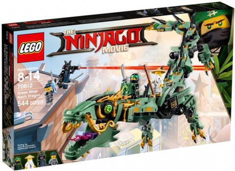 LEGO 70612 THE LEGO NINJAGO MOVIE Green Ninja Mech Dragon
