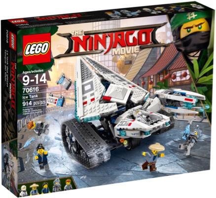 LEGO 70616 THE LEGO NINJAGO MOVIE Ice Tank