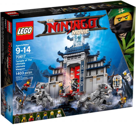 LEGO 70617 THE LEGO NINJAGO MOVIE Temple of the Ultimate Ultimate Weapon