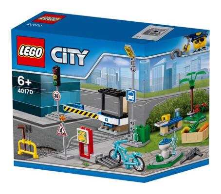LEGO 40170 CITY Build My City Accessory Set