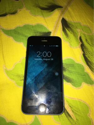 iPhone 5 Black Slate FU 16GB Batangan