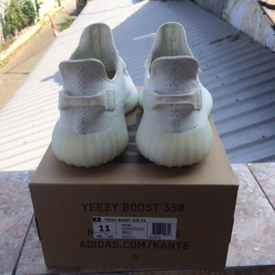 adidas yeezy boost 350 v2 cream white us 11 rare size