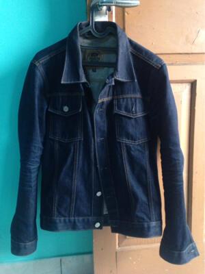 Jacket Denim PMP not(aye,sage,nudie,iron heart,elhaus,bape,off white,deus)