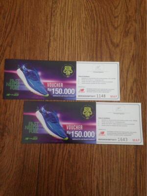 voucher new balance 150K Rupiahs