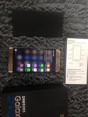 Samsung Galaxy S7edge 32Gb Gold Platinum fullset mulua original bandung
