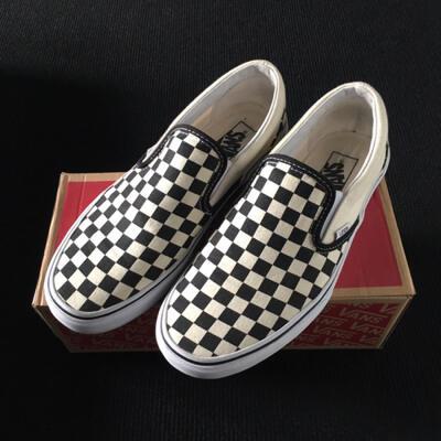 vans slip on checkerboard kaskus