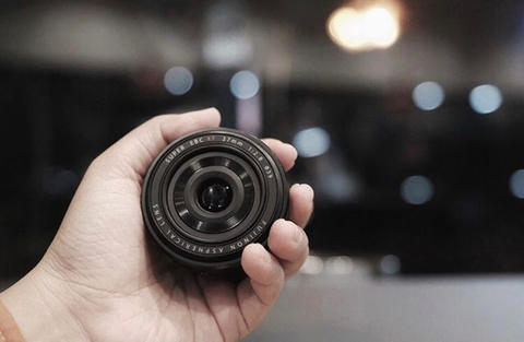 lensa fuji Fujinon 27 F/2.8 Lensa Pancake