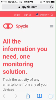 Sofware spyzie buat monitoring hp anak anda bt ios&android