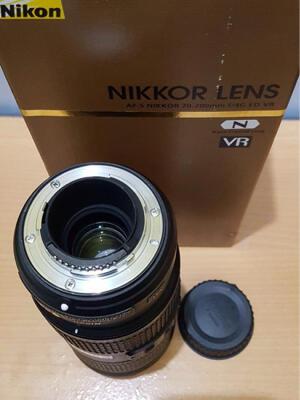 [WTS] jual nikon 70-200 f.4 VR Nano full set