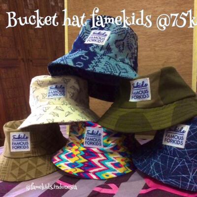 Terjual topi bucket hat famekids  f9880ef852