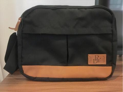 pickYourDenim Austin Black - Messenger Bag