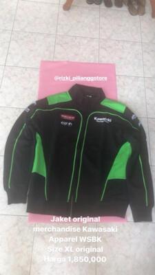 Jual Jual Jaket Kawasaki Racing Team WSBK Original Size XL Jakarta ... 6711181435