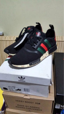 567f6120ac226 Cheap NMD R1 Gucci Bee Shoes Sale