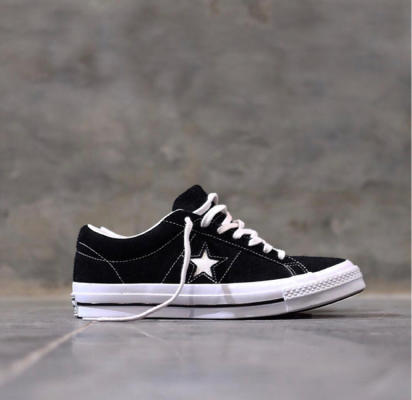 35018ccf2250 Terjual For Sale Converse One Star  74 Ox Premium Suede Black