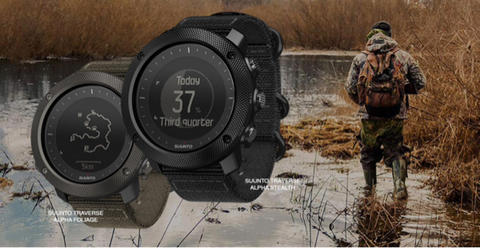 SUUNTO TRAVERSE ALPHA STEALTH NOT GARMIN FENIX CASIO GSHOCK EIGER