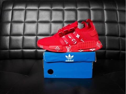 Adidas NMD R1 X LV Triple Red