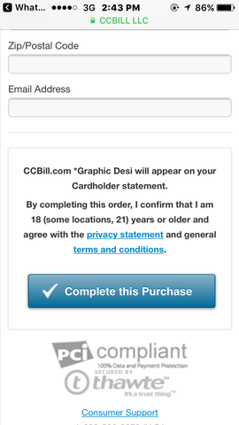 Beli Domain di CCBill
