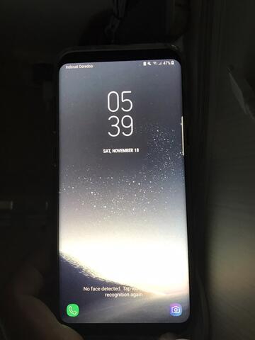 Samsung Galaxy s8 plus - Sein