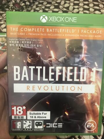 Bd game xbo one Battlefield 1