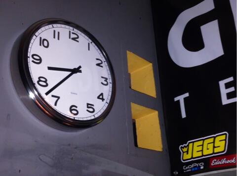 Terjual jam dinding ikea pugg (baja anti karat)  cf2b404edc