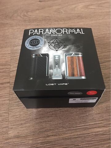 Mod Paranormal DNA 166 by Lost Vape (Penerus Therion). Super Istimewa. Super Komplit.