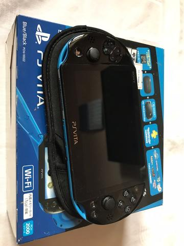 PS Vita slim WIFI, from Japan