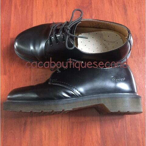 sepatu docmart hitam authentic