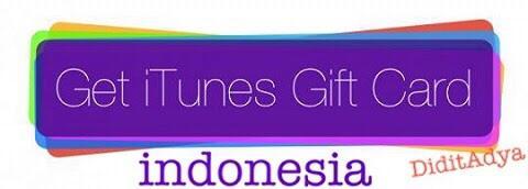 (TRUSTED&MURAH) IGC (iTunes Gift Card) indonesia, Jasa Belanja Satuan