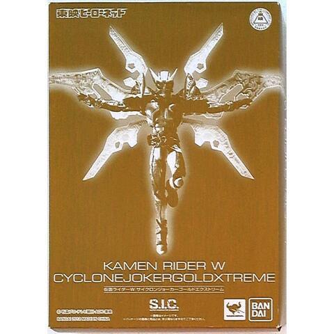 SIC kamen rider W Cyclone Joker Gold Extreme Limited